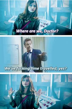 9 Predictions For The 12th Doctor's Pilot Episode As Told By Peter Capaldi GIFs - absolutely hilarious take on the Doctor if they didn't have to make it kid-friendly...