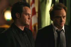 """Matthew Perry and Bradley Whitford in """"Studio 60 on the Sunset Strip"""" (TV Series Godfather Actors, Bradley Whitford, Studio 60, Tv Show Casting, Tim Roth, Matthew Perry, West Wing, Sunset Strip, Spike Lee"""