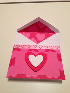 Valentine's Card with Ribbon