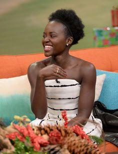Pin for Later: Lupita Nyong'o Spills the Beans About Star Wars, Eats Chilaquiles in Her Latest Interview