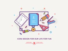 simple icons by luking