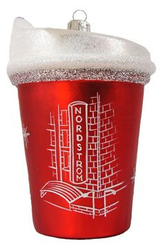 Nordstrom Heritage Collection 'Nordstrom Coffee Cup' Ornament available at Nordstrom