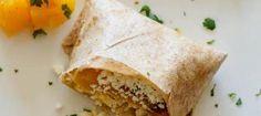 Pumpkin Cotija Burrito Recipe