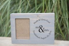 Excited to share the latest addition to my shop: Newlywed photo holder housewarming picture frame Gift Personalized picture frame Family Photo Display Auntie Gifts, Bff Gifts, Sister Gifts, Gifts For Mom, Wedding Gifts For Bride And Groom, Mother Of The Groom Gifts, Bride Gifts, Best Friend Christmas Gifts, Best Friend Gifts