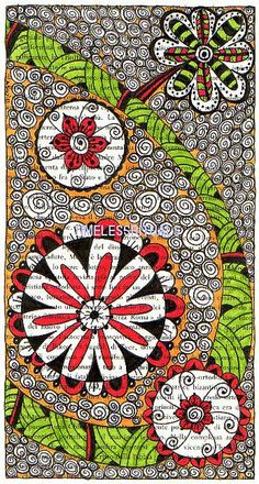 Doodle on Book   Flickr - Photo Sharing!