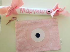 personalised easter gift set by cotton prince-labada and evileye zip pouch