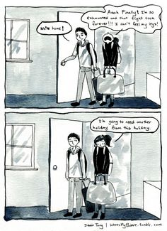 Introvert Comics By Debbie That Only People With Social - Hilarious comics that every introvert will understand