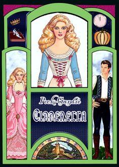 Paper Dolls~Cinderella - Bonnie Jones - Picasa Web Albums