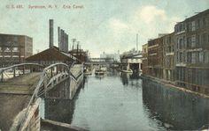 Lake Erie Canal, Michigan.