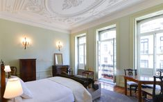 Maison Des Amis | Porto Guest House Portugal, Mirror, Bed, Furniture, Home Decor, House Decorations, Port Wine, Hotels, Home