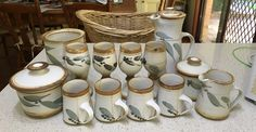 Pottery Shop, Range, Mugs, Tableware, Cookers, Dinnerware, Stove, Cups, Dishes