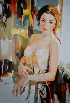 Fine Art and You: Josef Kote | Albanian Abstract Painter | 1964