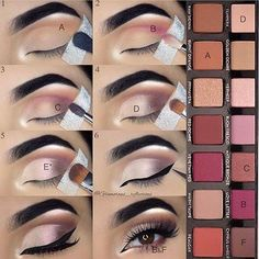 A step by step make-up & The post ABH Modern Renaissance Makeup Palette Eyeshadow Tutorial. A step by step make-up & appeared first on Trendy. Makeup Goals, Makeup Inspo, Makeup Inspiration, Makeup Tips, Makeup Ideas, Eye Makeup Tutorials, Prom Makeup Tutorial, Makeup Tutorial Step By Step, Makeup Hacks