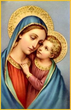Madonna and child...