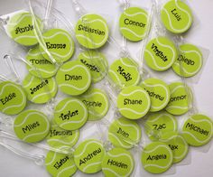 BULK order listing Tennis Bag Tags Tennis Gift Monogram Tennis Bag Tag Tennis Ball Bag Tag Tennis Bag Tag Orders of 15 or more only on Etsy, $4.50