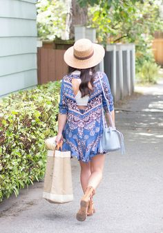 We're loving Haley's summer tunic