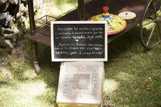 I vostri giochi da bambini, una scatola di ricordi, Lasciate che i vostri invitati lascino un'impronta indelebile il giorno delle vostre nozze