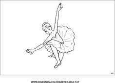 ballerina_tutu disegni da colorare per adulti