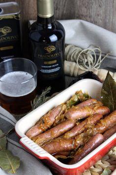 Sausage Recipes, Cooking Recipes, Tapas Bar, Banana Split, Spanish Food, Tasty, Yummy Yummy, Dairy Free, Food Photography