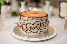 Birch Tree Stump Cake by monsterkookies.deviantart.com on @DeviantArt