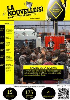 Festival Nouvelles Scènes. Du 19 au 22 mars 2014 à niort.