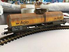 LIMA HL 6102 - CARRO CISTERNA AGIP SNCF - HO Usurato Dal Tempo Serie Limitata   eBay