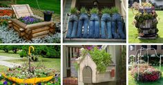It's named fifteen interesting garden planters to inspire you. If you are looking for something interesting to do in your garden,