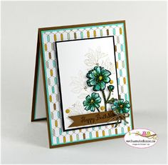 stampin Up Bloom with Hope for Stamping and Blogging by Sandi @ www.stampinwithsandi.com
