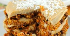 This Vegan Carrot Cake is loaded with nuts, seeds, raisins, and all the good stuff. It's wonderfully dense, nice and firm, and comes together perfectly.