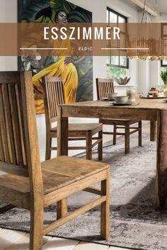 Edles Esszimmer Elric | Erlebe Höchster Wohnkomfort Durch Exklusive  Massivholz Möbel. #nature #