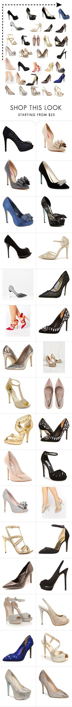 """""""Shoes❤️"""" by fofitta ❤ liked on Polyvore featuring GUESS, Betsey Johnson, Menbur, Anne Michelle, CHARLES & KEITH, BCBGMAXAZRIA, ASOS, Ted Baker, Steve Madden and Michael Antonio"""