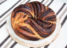 Fantastický twister čokoládový koláč, Koláče, recept | Naničmama.sk Cooking Tips, Food And Drink, Bread, Baking, Breakfast, Sweet, Cakes, Basket, Bread Making