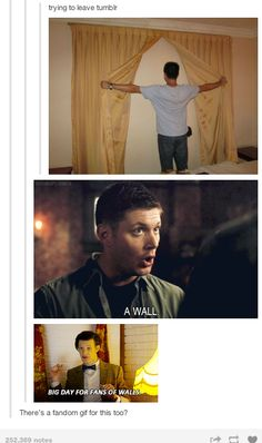 {V} — The Supernatural Fandom forever taking over posts that have nothing to do with them.