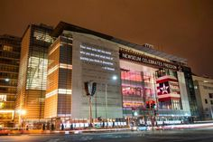 It is a museum with an area of 250,000 square feet. The main focus of the museum are news and journalism. The Newseum is a showcase of 5 centuries of history and other facts about news and journalism.