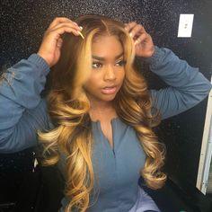 Love Hair, Gorgeous Hair, Hair Colorful, Curly Hair Styles, Natural Hair Styles, Undercut Designs, Undercut Pixie, Hair Laid, Human Hair Lace Wigs