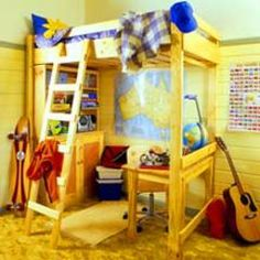 Pattern Sheet: Kid's Bunk Beds