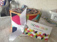 Technicolor by Emily Herrick for Michael Miller Fabrics Jelly Roll of – Quilt Store Next Door Michael Miller Fabric, Jelly, Fabrics, Gift Wrapping, Quilts, Store, Gelee, Tejidos, Paper Wrapping