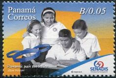Francobolli - Sindrome di Down - Down Sindrome - Stamps - Panama 2007