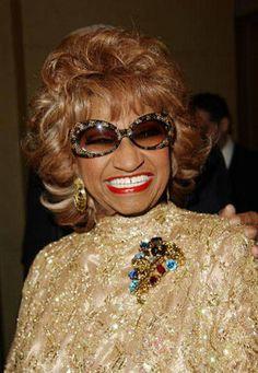 The queen of salsa, Celia Cruz. There's always love for her!