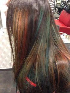 #colour #pinogirone #bari #parrucchiere #newcollection #colori autunno-inverno 2013/14 #davines