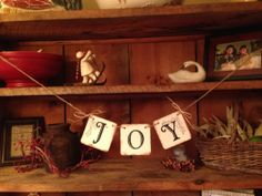 Joy Bunting, Christmas Bunting, Christmas Pennant, Christmas Garland, Bunting Banner, Holiday Bunting