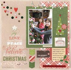 Believe in Christmas - Scrapbook.com