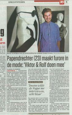 MOAM mode amsterdam 2012 Algemeen Dagblad Martijn Nekoui
