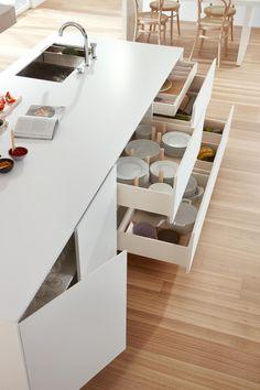 SERIE 45   POLAR WHITE - Blocs-cuisines design de dica ✓ toutes les informations ✓ images à haute résolution ✓ CADs ✓ catalogues ✓ contact ✓..