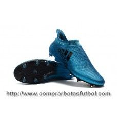 promo code 2541a cfc4e Madrid Botas De Futbol Adidas X 17+ Purespeed FG Azul Negro Core