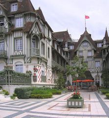 Deauville in Normandy, France