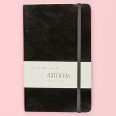 $5 Just the Nest Leatherette Lined Notebook