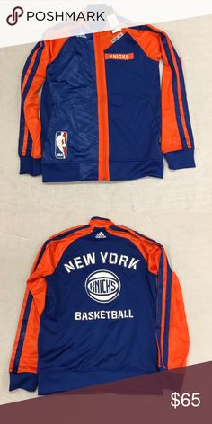 New York Knicks adidas Full Zip On Court Jacket New York Knicks adidas Full Zip On-Court Warm-Up Jacket. Save money by bundling with other items in my store. Adidas Jackets & Coats Performance Jackets