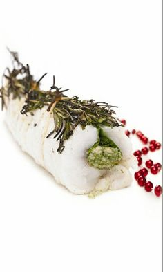 Sage & Onion Stuffed Monkfish - After having a special treatment with sweet onions and sage stuffing in the oven, this monkfish becomes extra tender and juicy Uk Recipes, Seafood Recipes, Monkfish Recipes, Monk Fish, Sage Stuffing, Cute Snacks, Fish Fish, Learn To Cook, Fish And Seafood