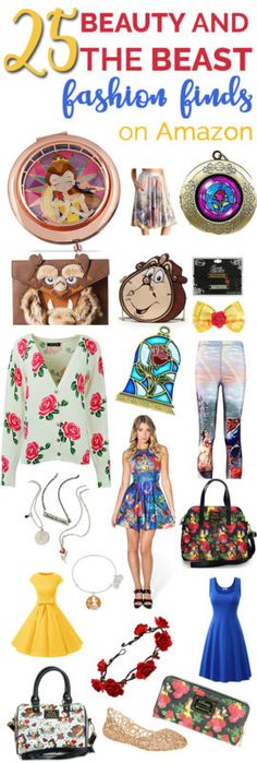 25 Beauty and The Beast Fashion FInds on Amazon - Belle Disney Bounding has never been so easy!